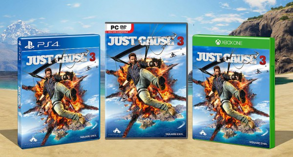 Jaquette JustCause 3