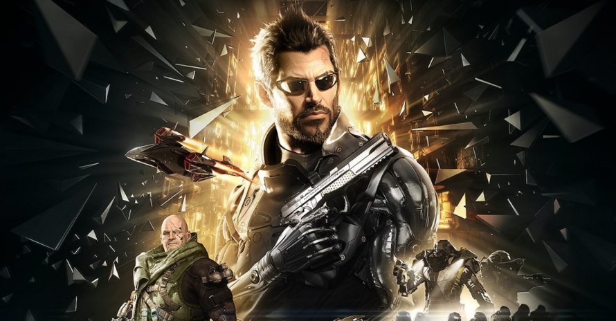 La jaquette PS4 de Deus Ex : Mankind Divided