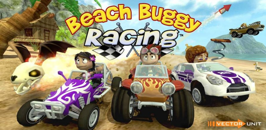 Test Beach Buggy Racing sur PS4