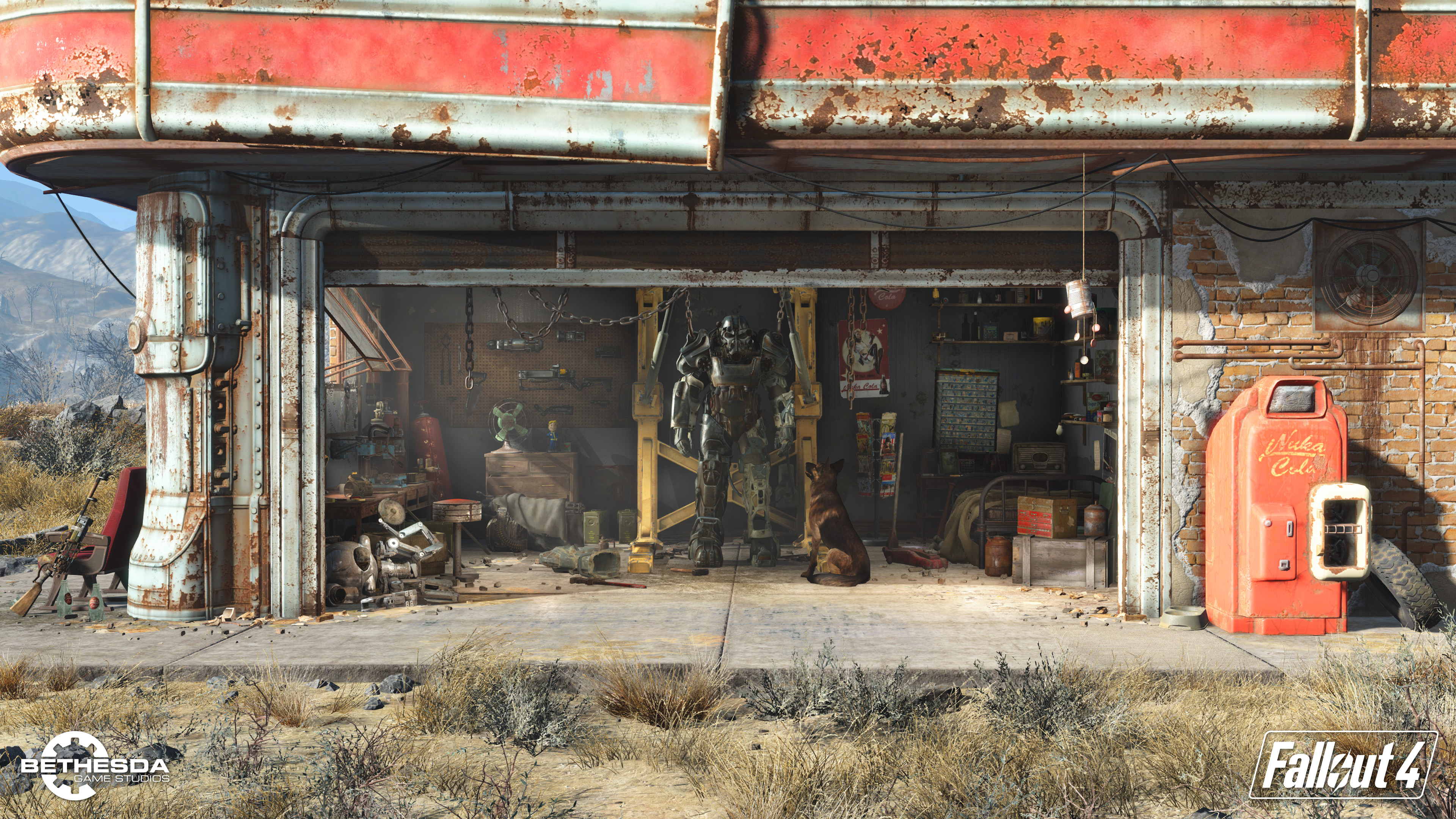 Fallout 4 first screen
