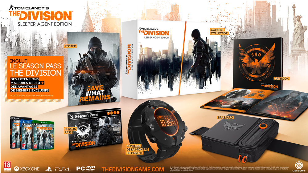 Tom Clancy's The Division Collector Sleeper Agent