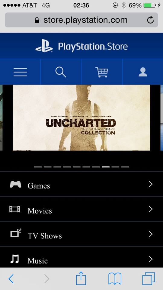 Uncharted the nathan drake collection screenshot ps store us mobile