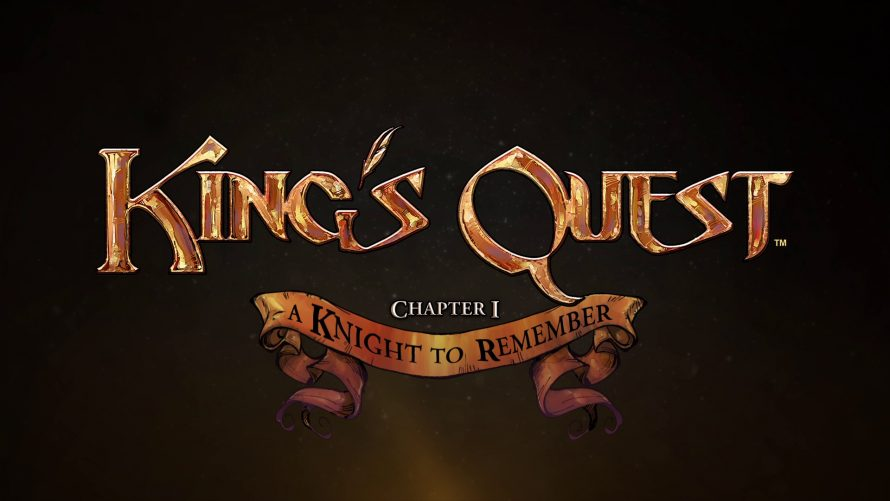 Test King's Quest: A Knight to Remember sur PS4