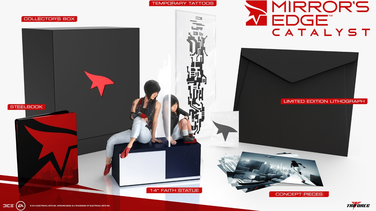 édition collector Mirror's Edge Catalyst Ps4 France