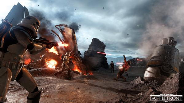 Star Wars Battlefront Beta 1