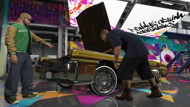 GTA V Lowriders 3