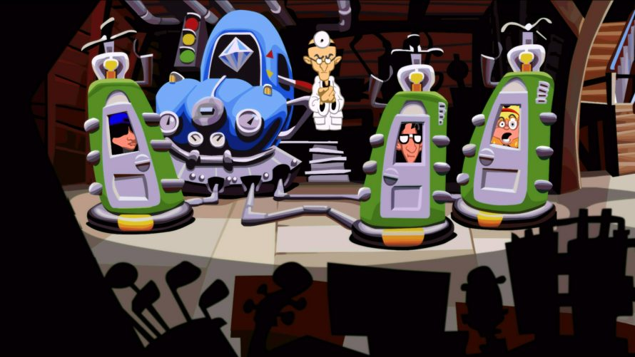 Day of the Tentacle Remastered sortira au mois de mars 2016
