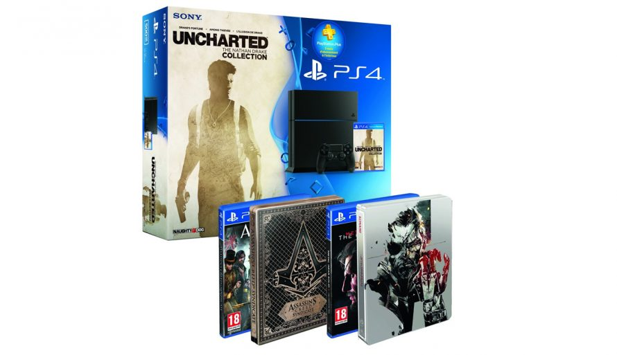 Bon Plan | La PS4 + Uncharted Collection + MGS V + Assassin's Creed Syndicate