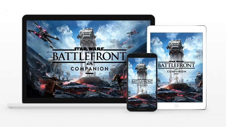 L'application compagnon de Star Wars Battlefront est disponible