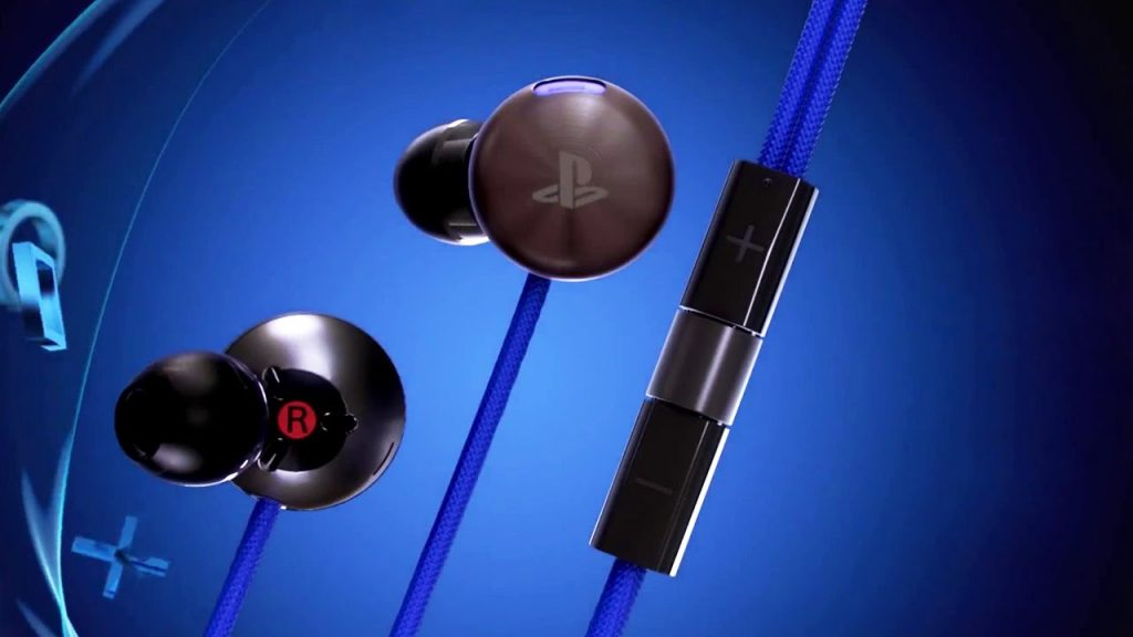 Casque intra-auriculaire PS4 2
