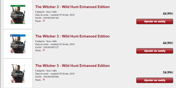 The Witcher 3 enhanced edition smartoys