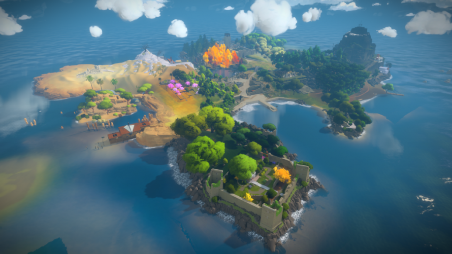 The Witness présente son panorama en silence