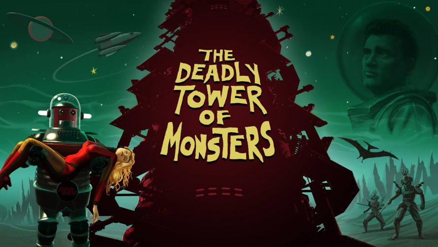 Test The Deadly Tower of Monsters sur PS4