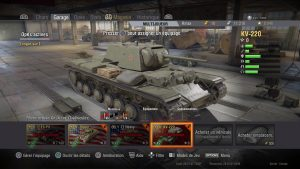 world of tank garage