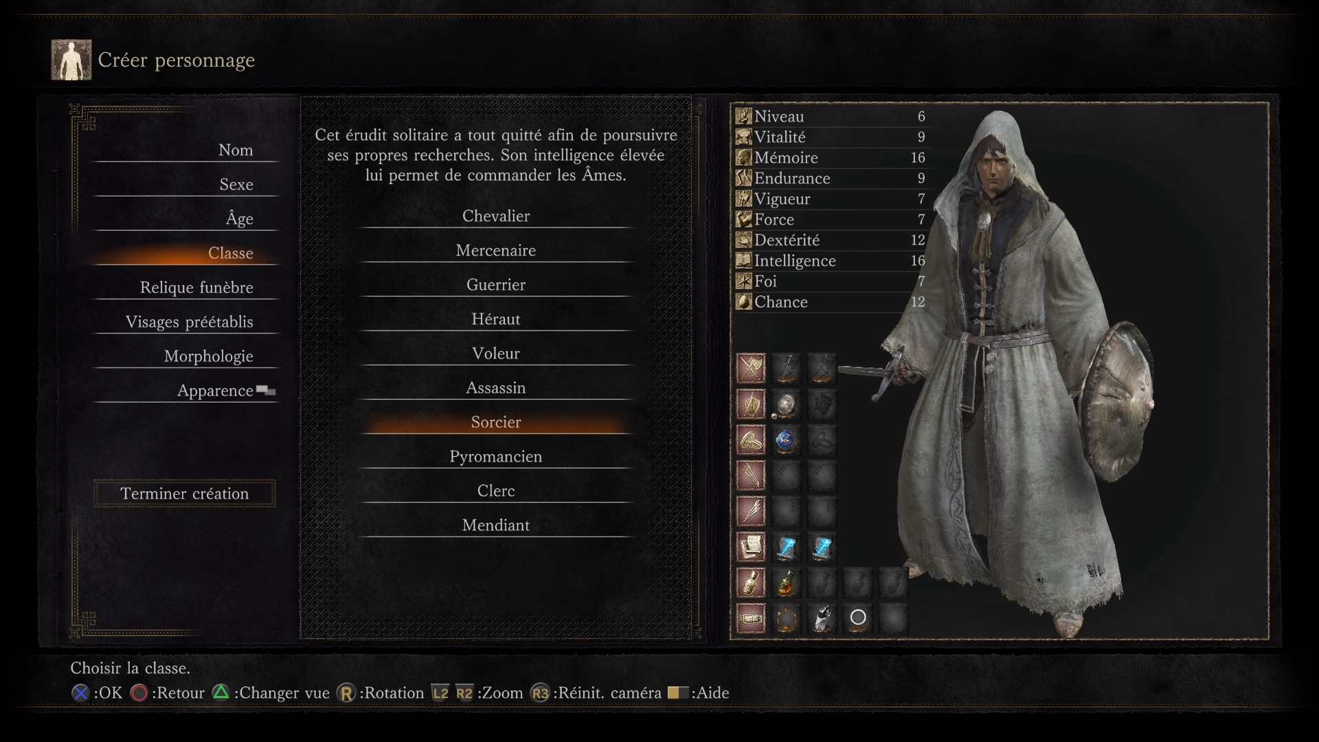 Darks Souls  Starting Character Builds