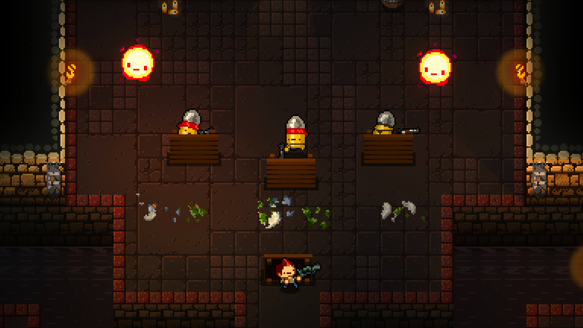 Enter the gungeon gameplay