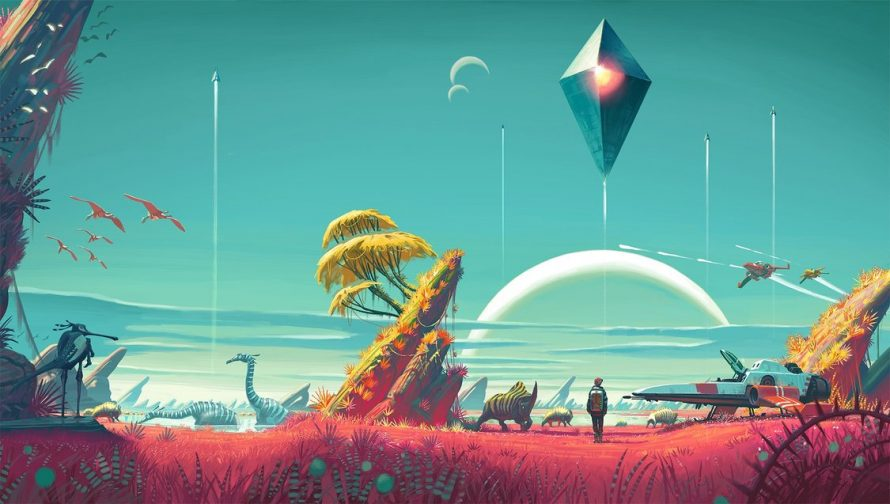 No Man's Sky : Plus de 10 minutes de gameplay sur PS4