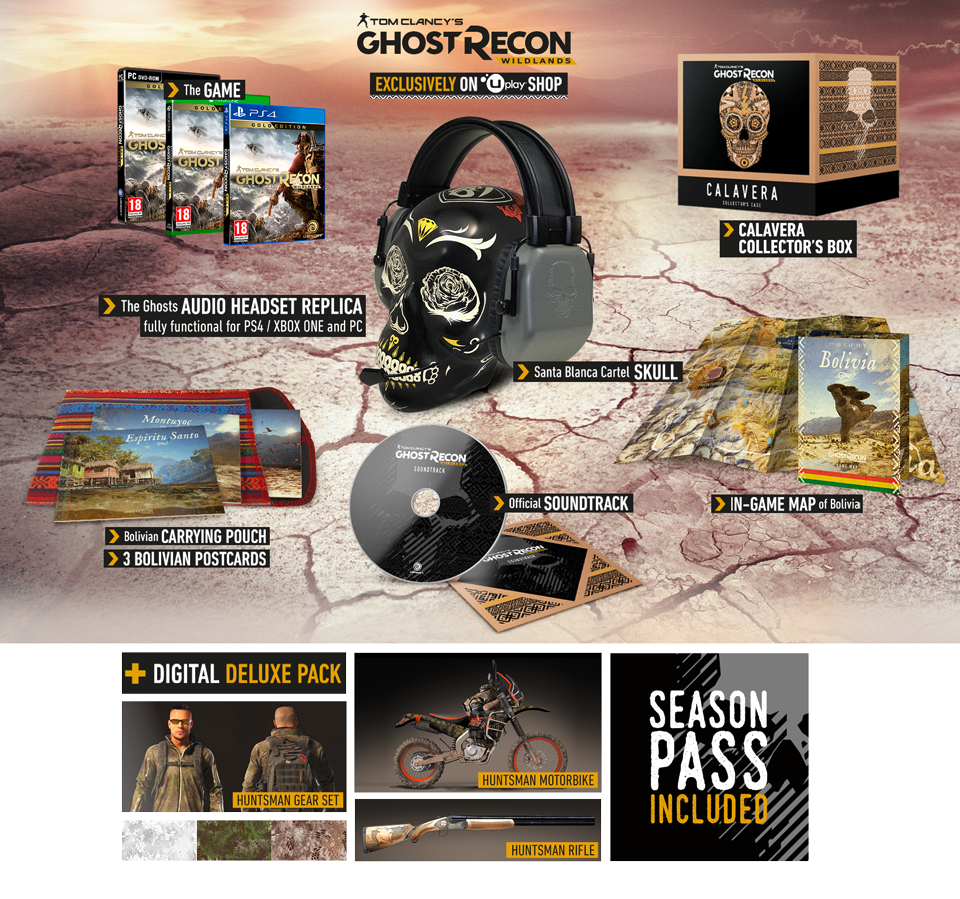 ghost recon wildland collector edition