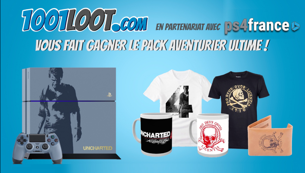 concours uncharted 4 ps4
