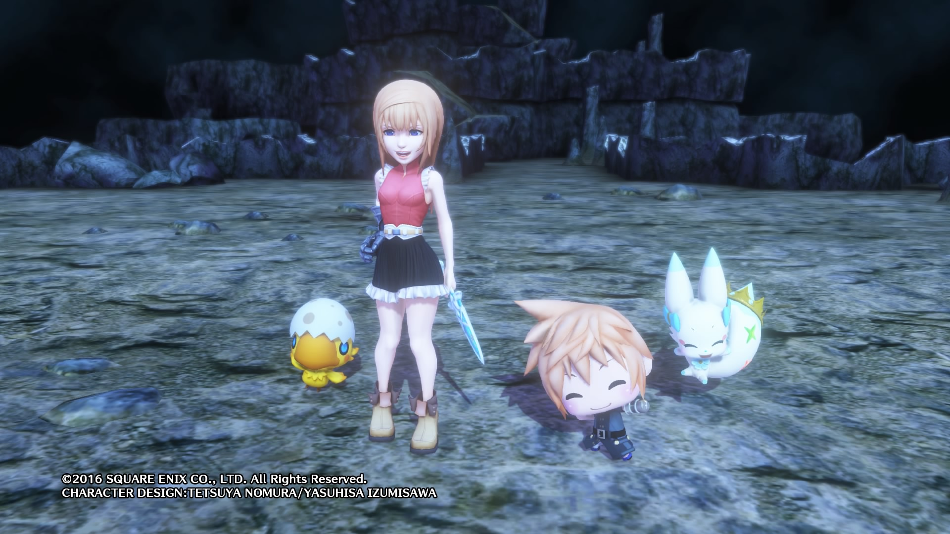 WORLD OF FINAL FANTASY Preview FR