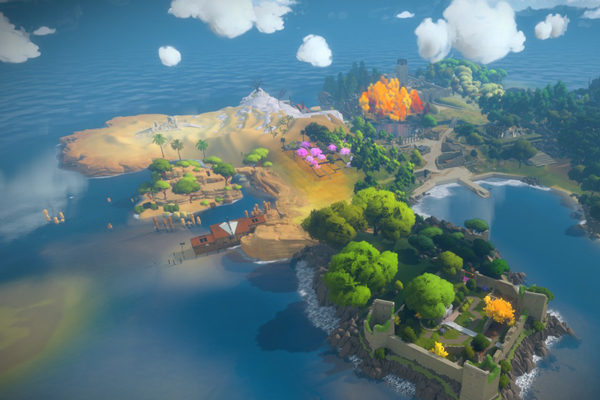 The Witness exclusif à la Playstation 4