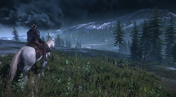 L'open world de The Witcher 3 sera « totalement différent » de Skyrim