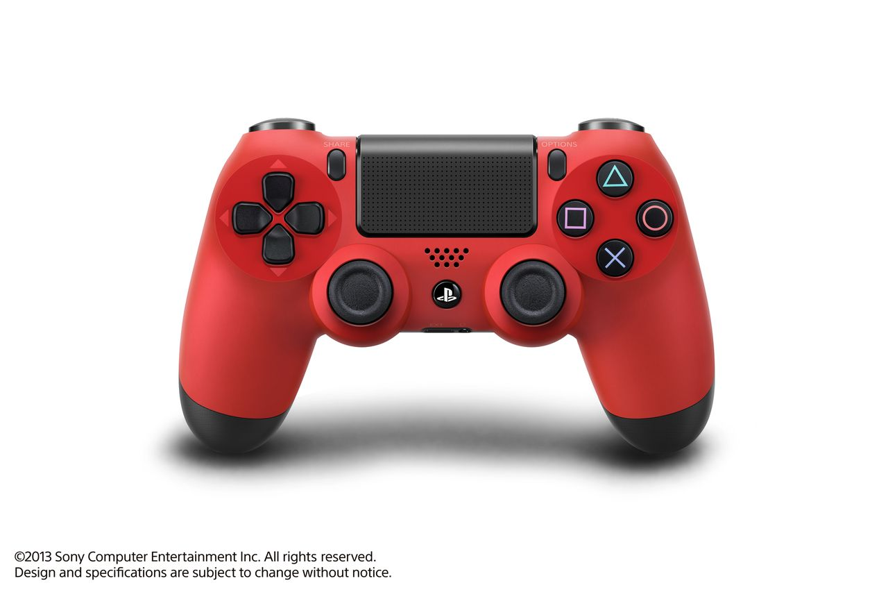 DUALSHOCK-4-RED