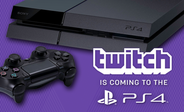 Twitch sera disponible sur Playstation 4 à son lancement
