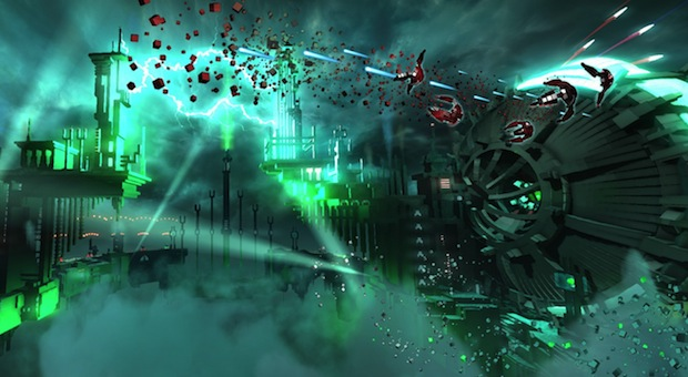 [EGX 2013] Resogun : vidéo du gameplay