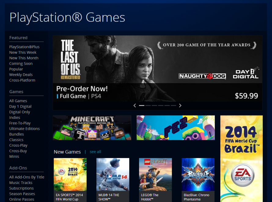 The Last of Us Remastered fuite sur le Playstation Store