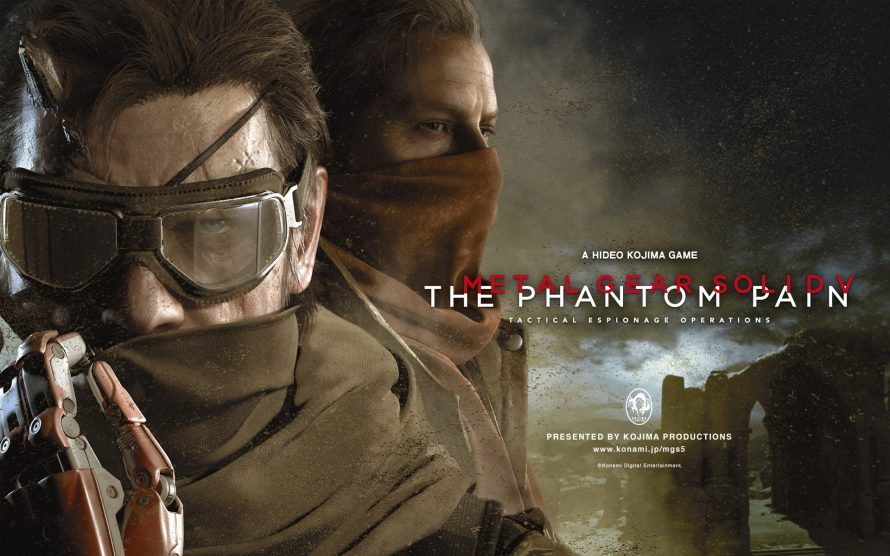 Metal Gear Solid V Definitive Ex listé sur Amazon