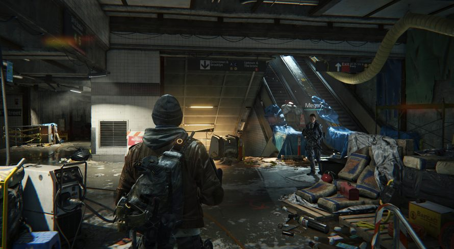 The Division : 8 minutes de gameplay en mission souterraine