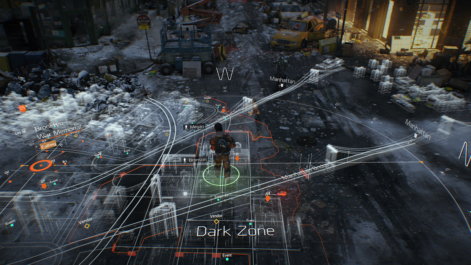 Map The Division