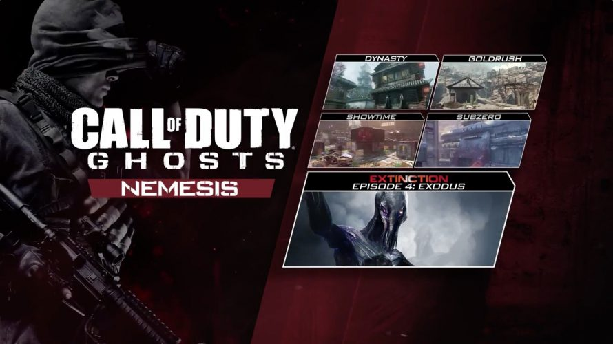 Call Of Duty : Ghosts : une date pour le DLC Nemesis