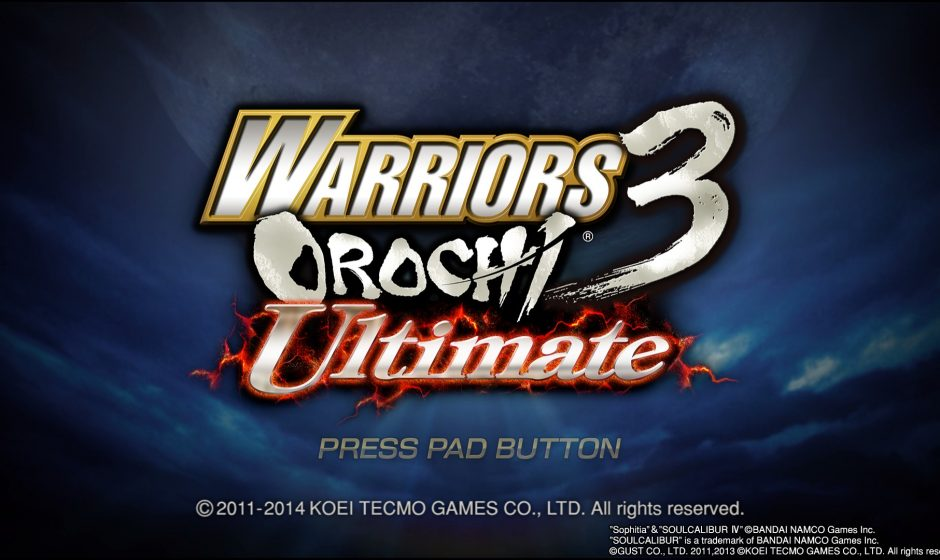Test Warriors Orochi 3 Ultimate