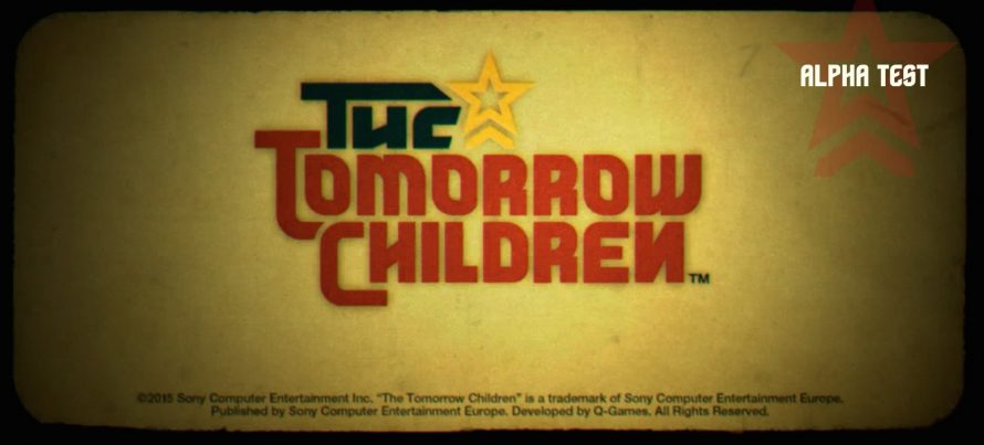 Les inscriptions à la beta de The Tomorrow Children sont ouvertes
