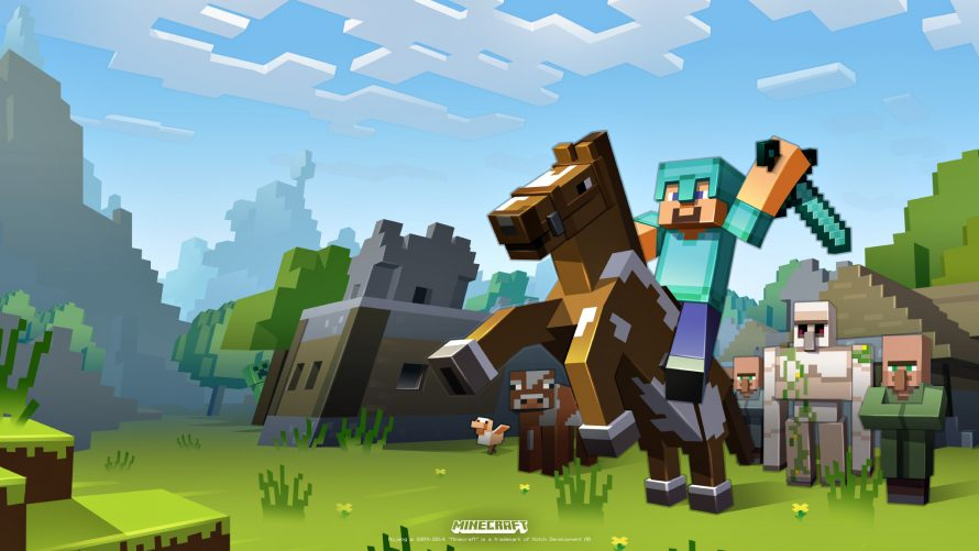 Minecraft sortira également sur Nintendo Switch