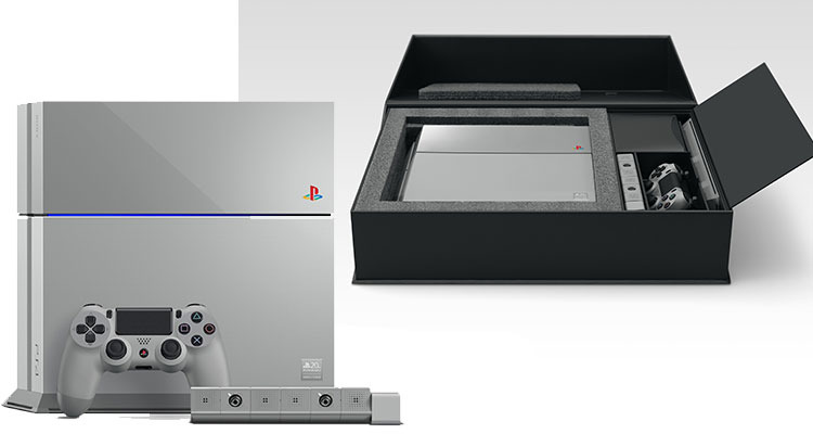 Unboxing : PS4 20th anniversary