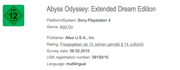 Abyss Odyssey: Extended Dream