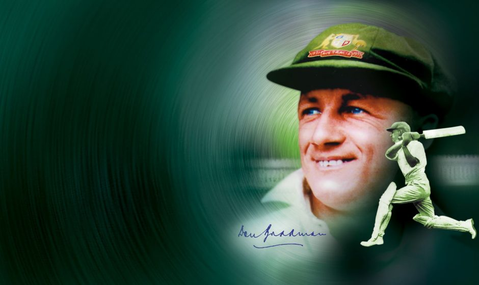 Test Don Bradman Cricket