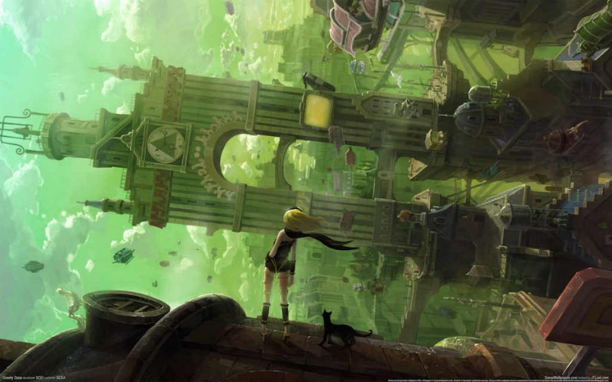 Les premiers tests de Gravity Rush Remastered