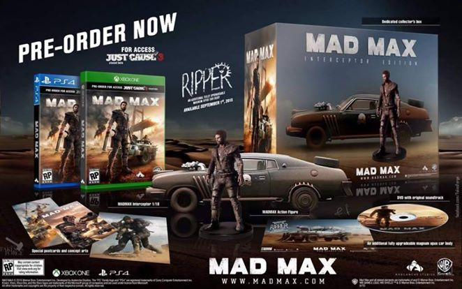 Edition collector Mad Max
