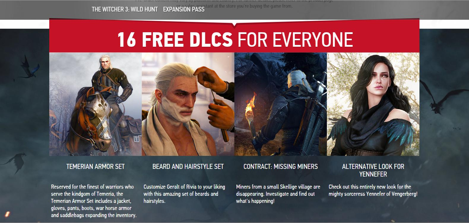 Expansion Pack The Witcher 3