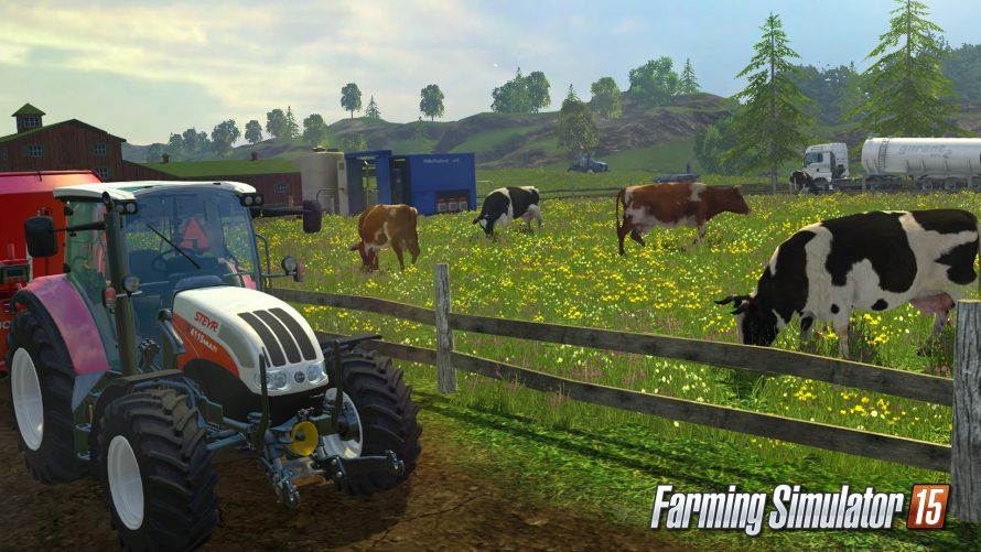Farming Simulator 15 : Le garage trailer