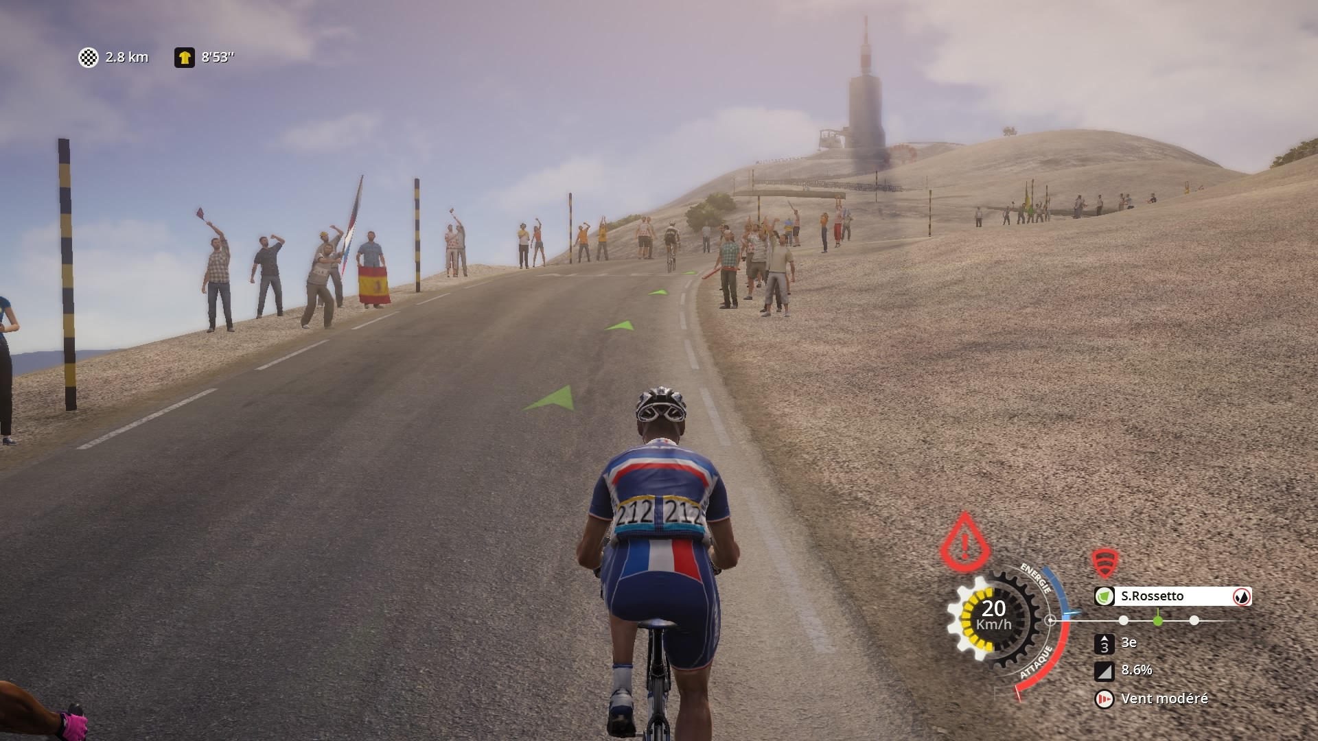 Mont Ventoux Tour de France 2015