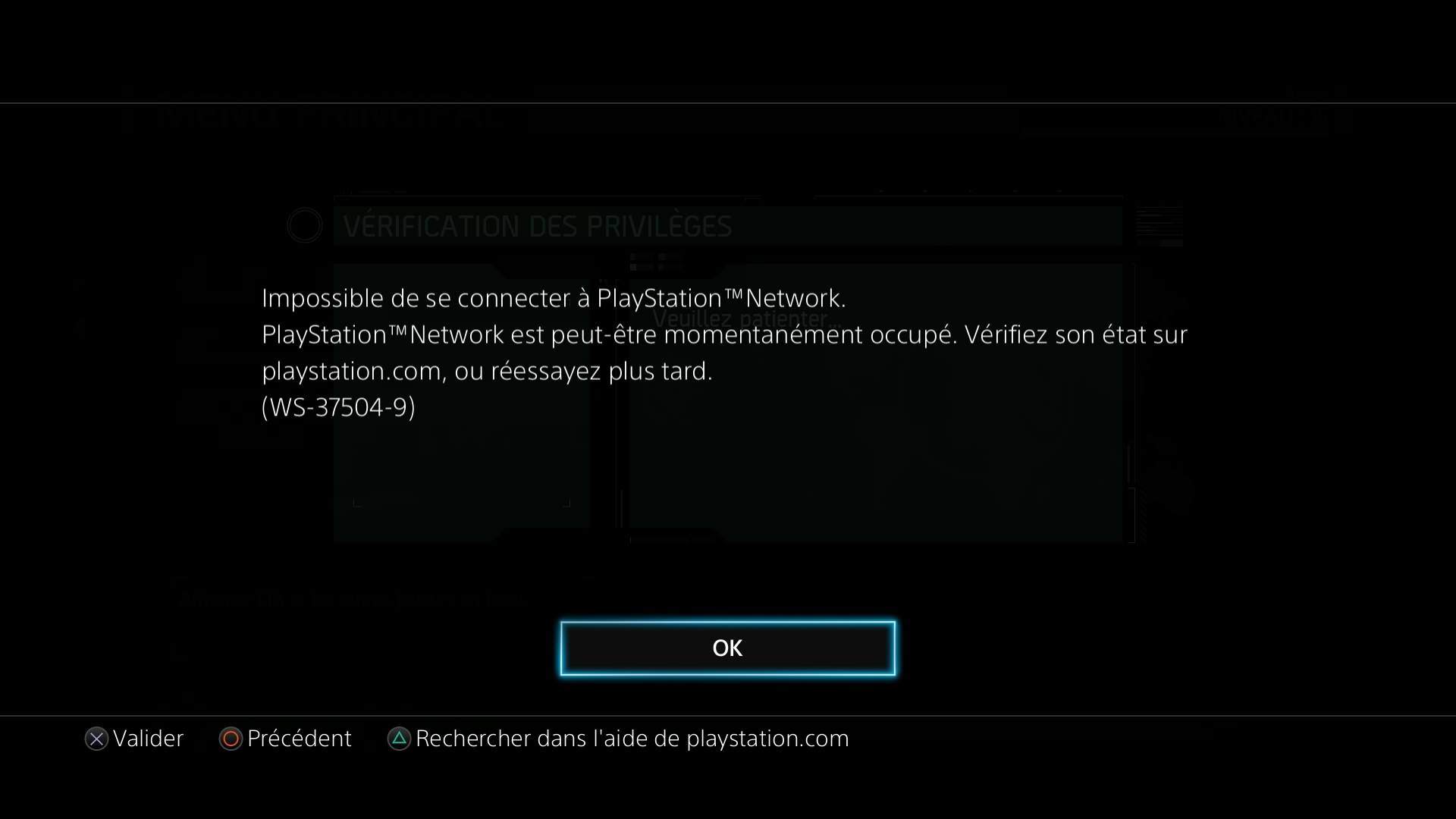 psn indisponible