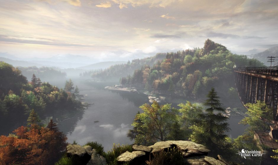 Test The Vanishing of Ethan Carter sur PS4