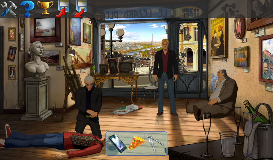 La version PS4 de Broken Sword 5 en vidéo