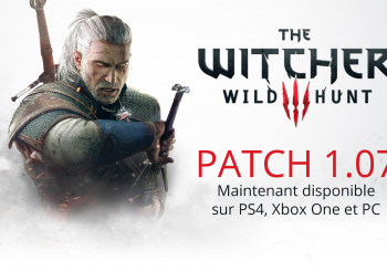 The Witcher 3 : les mouvements alternatifs de la MAJ 1.07 en vidéo