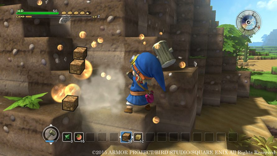 [TGS 2015] Dragon Quest Builders : Un Minecraft à la sauce JRPG